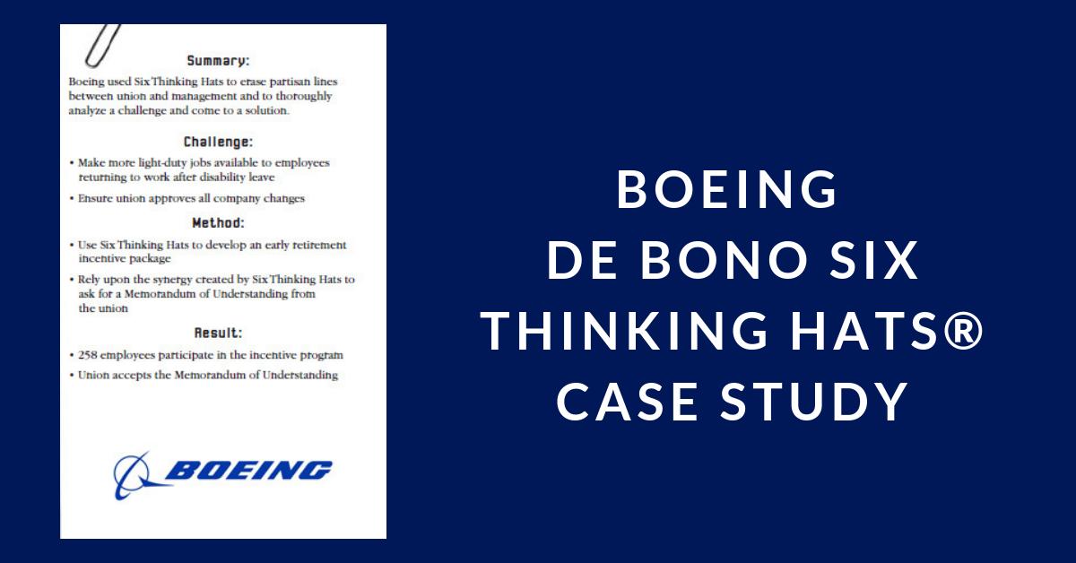 de Bono Six Thinking Hats – Resources Unlimited: Human